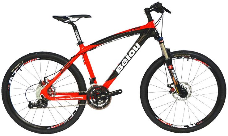 BEIOU Toray T700 Carbon Fiber Mountain Bike