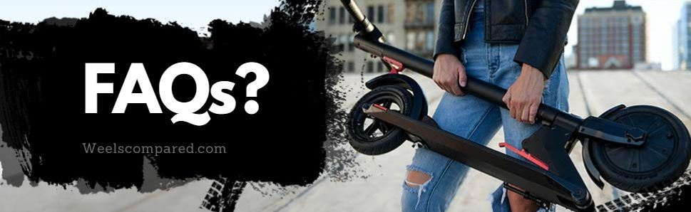 Faqs Folding Electric Scooters