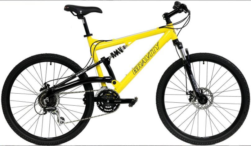 Gravity FSX 1.0 Full Suspension Mountain Bike