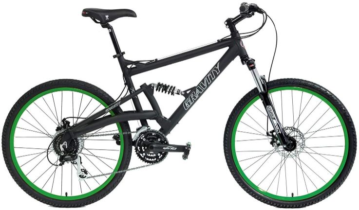 Gravity FSX 2.0 Full Suspension Mountain Bike