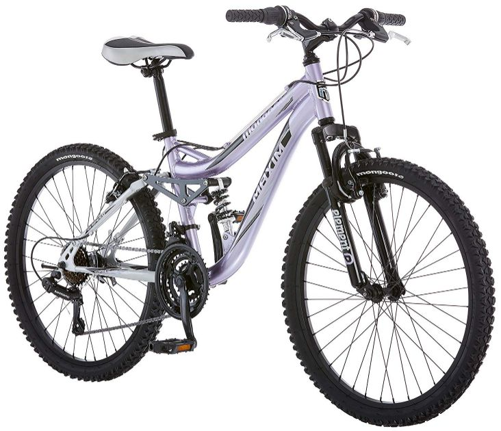 Mongoose R3577 Girl's Full Suspension Bicycle