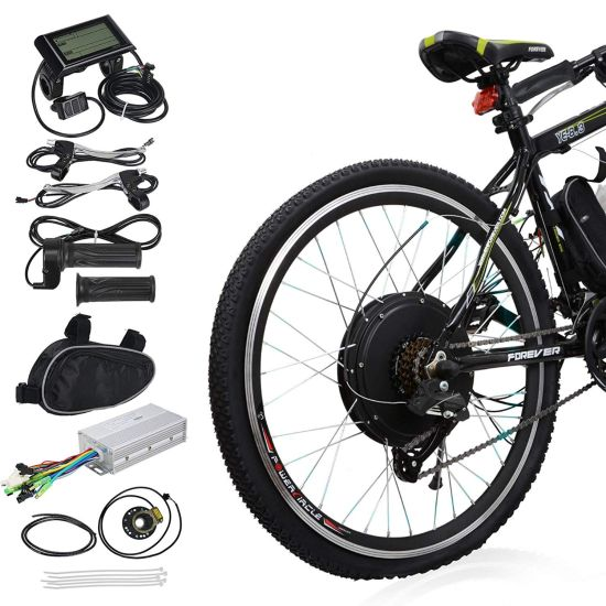 Electric Motor For Bicycle >> The 12 Best Electric Bike Conversion Kits In 2019 Trending