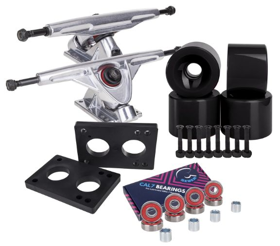 Cal 7 Longboard Trucks Combo Package