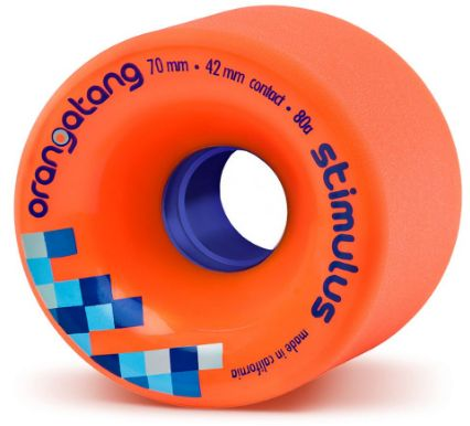 Orangatang Stimulus 70mm Freeride Skateboard Wheels
