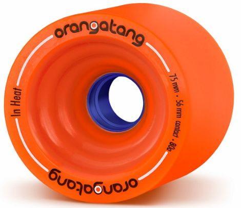 Orangatang in Heat 75 mm Downhill Longboard Wheels