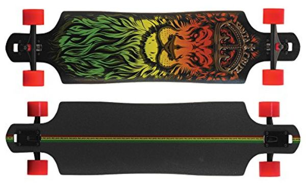 Santa Cruz Lion God Rasta Freeride Longboard