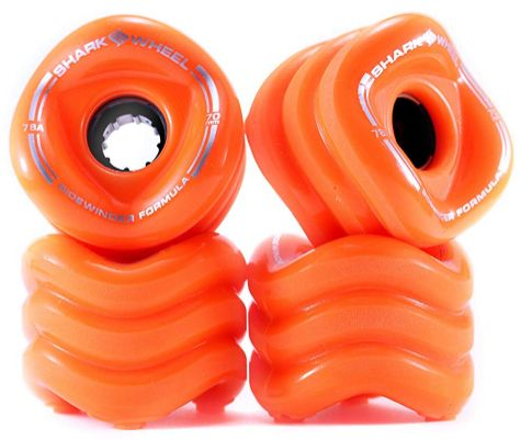 Shark Wheel Sidewinder 70mm Longboard Wheels